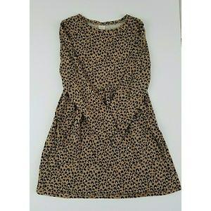 Girls Gymboree Sz 10/12 leopard dress